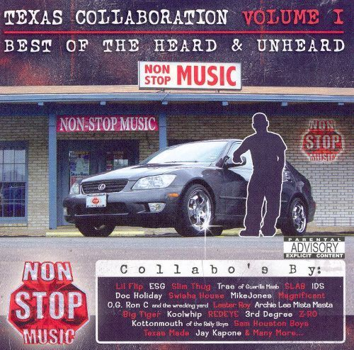 "NON STOP MUSIC ""TEXAS COLLABORATION VOL. I"" (USED CD)"