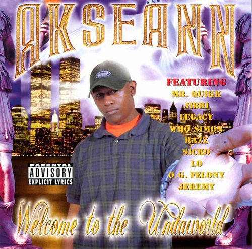 "AKSEANN ""WELCOME TO THE UNDAWORLD"" (USED CD)"