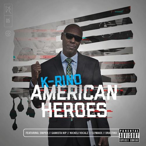"K-RINO ""AMERICAN HEROES"" (NEW CD)"
