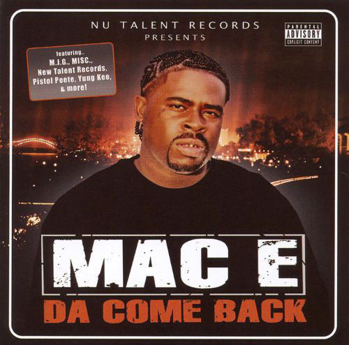 "MAC E ""DA COME BACK"" (USED CD)"