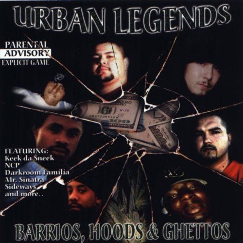 "URBAN LEGENDS ""BARRIOS, HOODS & GHETTOS"" (USED CD)"