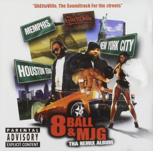 "8 BALL & MJG ""THA REMIX ALBUM"" (USED CD)"