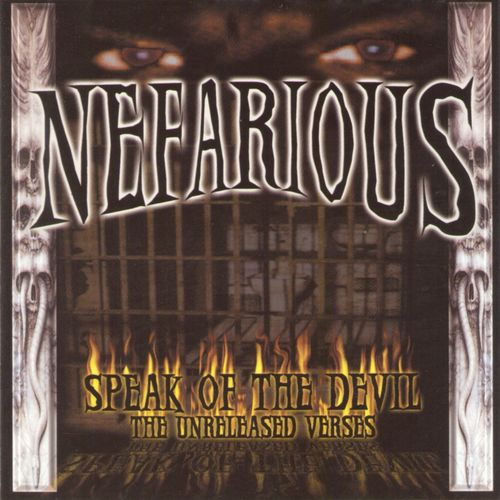 "NEFARIOUS (AKA X-RAIDED) ""SPEAK OF THE DEVIL"" (USED CD)"
