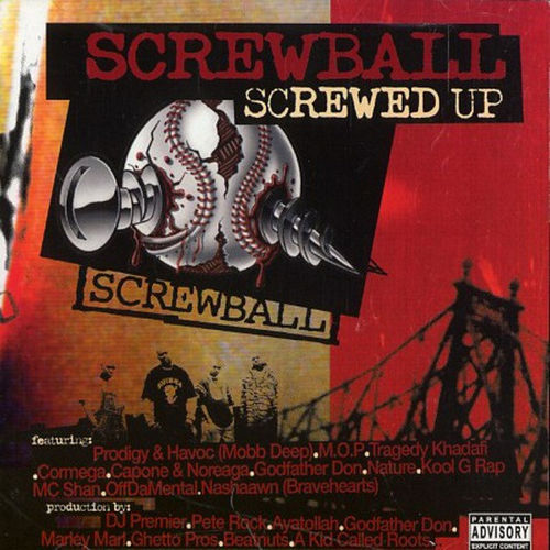 "SCREWBALL ""SCREWED UP"" (USED 2-CD)"