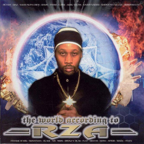 "RZA ""THE WORLD ACCORDING TO RZA"" (USED CD)"