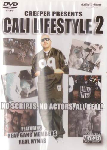 "CREEPER PRESENTS ""CALI LIFESTYLE 2"" (USED DVD)"
