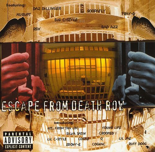 "VARIOUS ARTISTS ""ESCAPE FROM DEATH ROW"" (USED CD)"