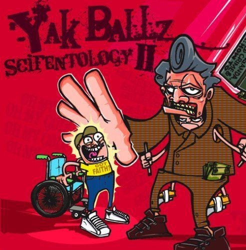 "YAK BALLZ ""SCIENTOLOGY II"" (USED CD)"