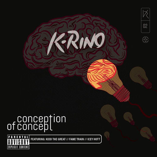 "K-RINO ""CONCEPTION OF CONCEPT"" (NEW CD)"
