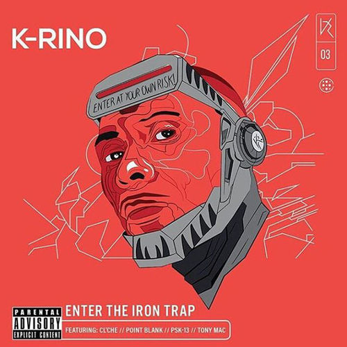 "K-RINO ""ENTER THE IRON TRAP"" (NEW CD)"
