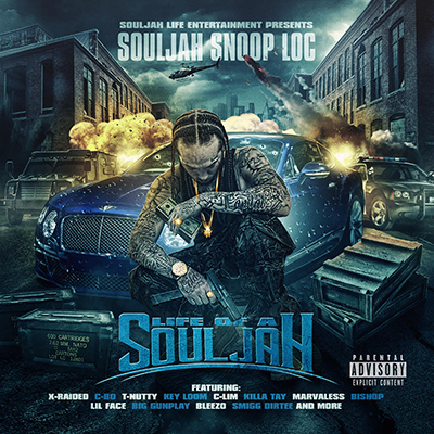 "SOULJAH SNOOP LOC ""LIFE OF A SOULJAH"" (NEW CD)"