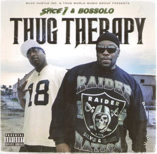 "SPICE 1 & BOSSOLO ""THUG THERAPY"" (NEW CD)"