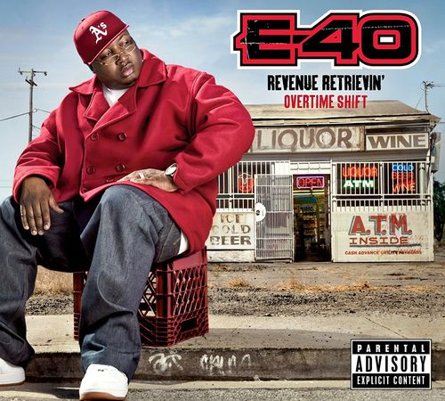 "E-40 ""REVENUE RETRIEVIN': OVERTIME SHIFT"" (USED CD)"