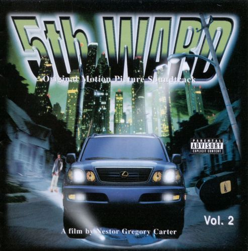 "ORIGINAL MOTION PICTURE SOUNDTRACK ""5TH WARD VOL. 2"" (USED CD)"