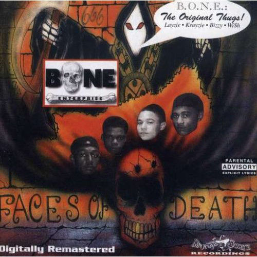 "BONE ENTERPRI$E ""FACES OF DEATH"" (USED CD)"