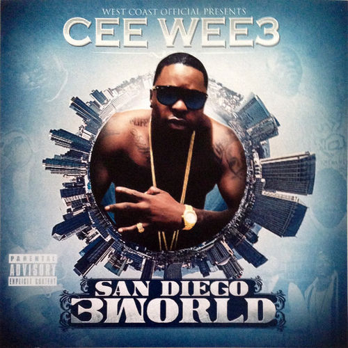 "CEE WEE 3 ""SAN DIEGO 3WORLD"" (NEW CD)"
