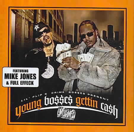 "CRIME BO$$ & LIL' FLIP ""YOUNG BO$$E$ GETTIN CA$H"" (USED CD)"