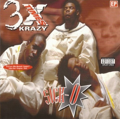 "3X KRAZY ""SICK-O"" (USED CD)"