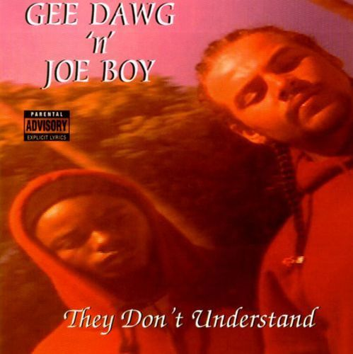 "GEE DAWG 'N' JOE BOY ""THEY DON'T UNDERSTAND"" (USED CD)"