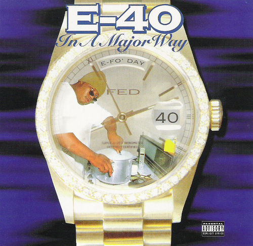 "E-40 ""IN A MAJOR WAY"" (USED CD)"