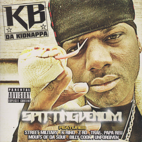 "KB DA KIDNAPPA ""SPITTING VENOM"" (USED CD)"