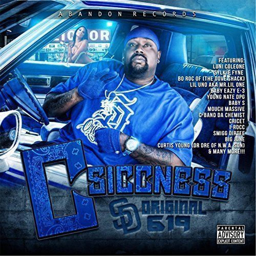 "C-SICCNESS ""SD ORIGINAL 619"" (NEW CD)"