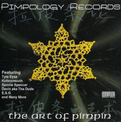 "PIMPOLOGY RECORDS ""THE ART OF PIMPIN"" (USED CD)"