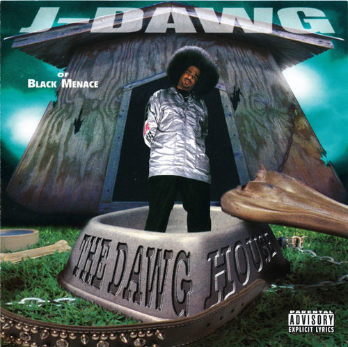 "J-DAWG (OF BLACK MENACE) ""THE DAWG HOUSE"" (USED CD)"