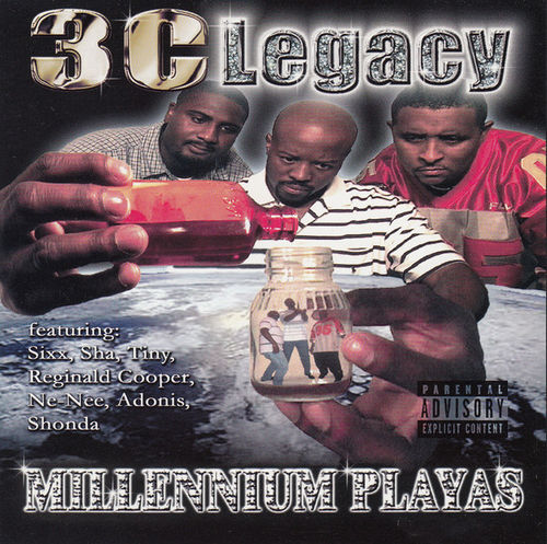 "3-C LEGACY ""MILLENNIUM PLAYAS"" (NEW CD)"