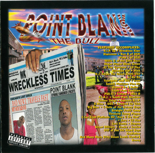 "POINT BLANK ""BAD NEWZ TRAVELS FAST"" (USED CD)"