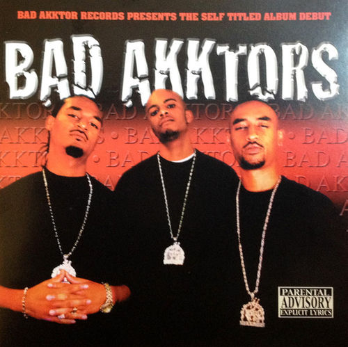 "BAD AKKTORS ""BAD AKKTORS"" (USED CD)"