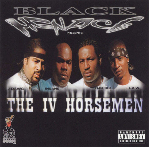 "BLACK MENACE ""THE IV HORSEMEN"" (NEW CD)"