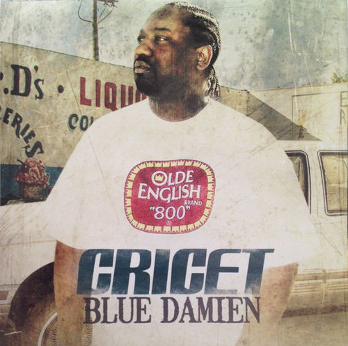 "CRICET ""BLUE DAMIEN"" (NEW CD)"