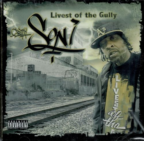 "GRITTY SONI ""LIVEST OF THE GULLY"" (NEW CD)"