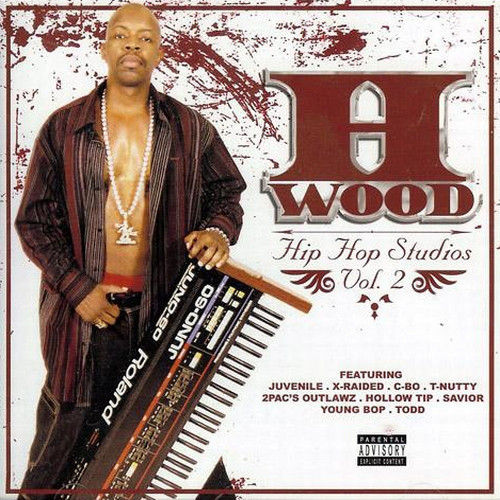"H-WOOD ""HIP HOP STUDIOS VOL. 2"" (NEW CD)"