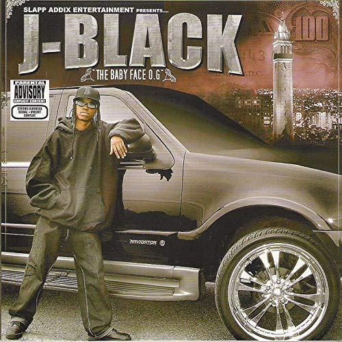 "J-BLACK ""THE BABYFACE O.G."" (NEW CD)"