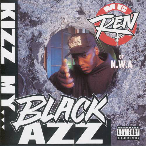 "MC REN ""KIZZ MY BLACK AZZ"" (USED CD)"