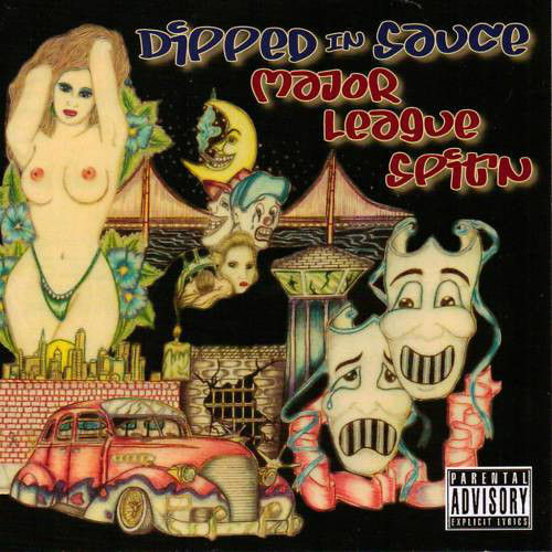 "MR. NASH & FEEB SNOW ""DIPPED IN SAUCE: MAJOR LEAGUE SPIT'N"" (USED CD)"