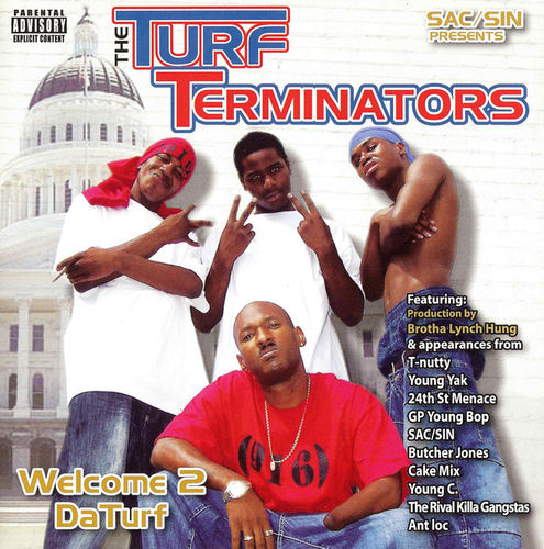 "THE TURF TERMINATORS ""WELCOME 2 DA TURF"" (NEW CD)"