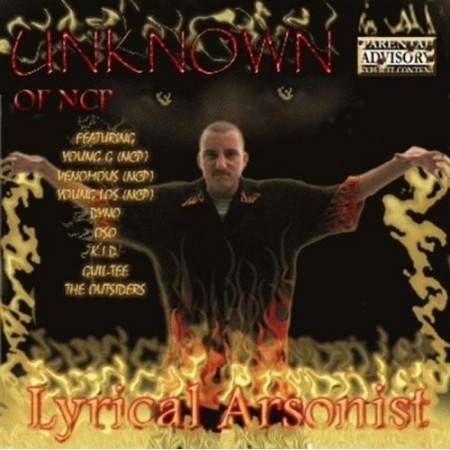 "UNKNOWN (OF NCP) ""LYRICAL ARSONIST"" (USED CD)"