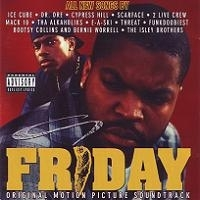 "VARIOUS ""FRIDAY: ORIGINAL MOTION PICTURE SOUNDTRACK"" (USED CD)"