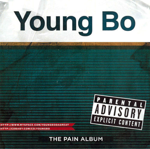 "YOUNG BO ""THE PAIN ALBUM"" (NEW CD)"
