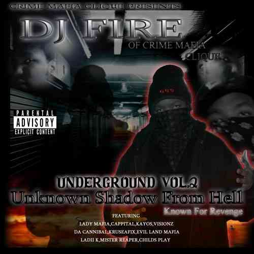 "DJ FIRE ""UNKNOWN SHADOW FROM HELL VOL. 2: DISC ONE"" (NEW CD)"