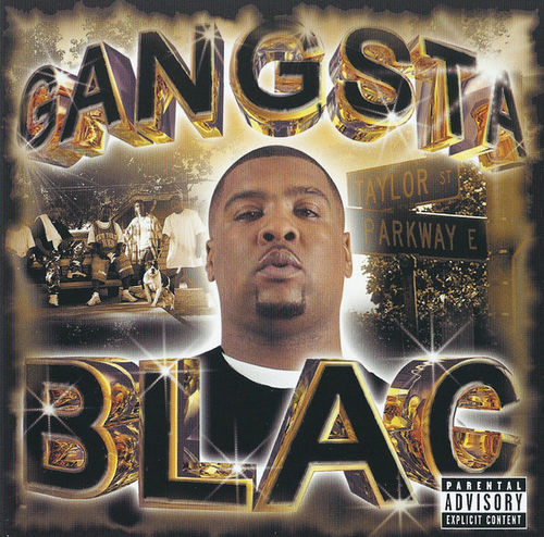 "GANGSTA BLAC ""GANGSTA BLAC"" (USED CD)"
