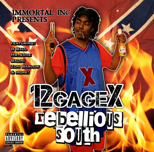 "12 GAGE X ""REBELLIOUS SOUTH"" (NEW CD)"