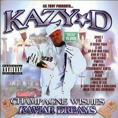 "KAZY-D ""CHAMPAGNE WISHES KAVIAR DREAMS"" (USED CD)"