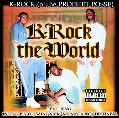 "K-ROCK ""K-ROCK THE WORLD"" (NEW CD)"