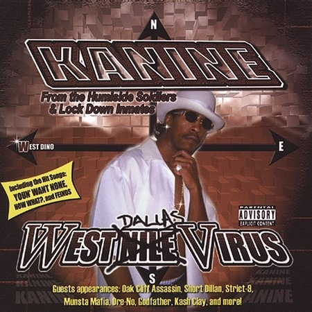 "KANINE ""WEST DALLAS VIRUS"" (NEW CD)"
