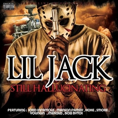 "LIL JACK (MANSON FAMILY) ""STILL HALLUCINATING"" (NEW CD)"