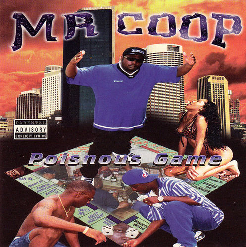 "MR. COOP ""POISNOUS GAME"" (NEW CD)"